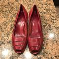 Nine West Shoes   1 Pair Of Nine West Shoes   Color: Red   Size: 7 12 N