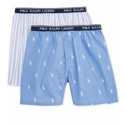 Polo By Ralph Lauren Accessories   Polo Ralph Lauren 2pk Woven Boxers   Color: Blue/White   Size: Various