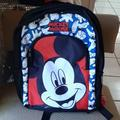 Disney Other | Disney Mickey Backpack | Color: Silver | Size: Osb