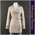 Anthropologie Jackets & Coats | 2005 Anthro Trench Coat By Elevenses | Color: Pink/Tan | Size: 6