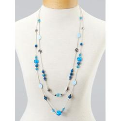 Women's Colors-Of-The-Sea Necklace, Marina Blue N/A
