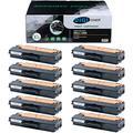TonerPlusUSA Compatible DELL1260 DELL1265 Toner Cartridge – DELL-1260 DELL-1265 High Yield Toner Cartridge Replacement for DELL Laser Printer – Black [10 Pack]