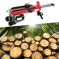 Zerodis Electric Wood Splitter, 7-Tons Splitting Force 2200W 15A Electric Hydraulic Log Splitter Electric Log Splitter Hydraulic Horizontal Wood Splitter for Outdoor(110V)