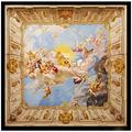 3D Large Wall murals Church Angel Ceiling Giant murals Wall Decals Non-Woven Customizable Size HD Print Removable Wall Stickers Murals Home Decoration-200X140cm