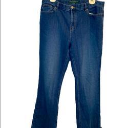 Ralph Lauren Jeans | Lauren Jean Co Blue Denim Classic | Color: Blue | Size: 14