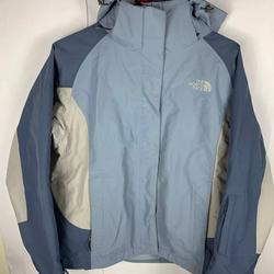 The North Face Jackets & Coats | North Face Womans North Face Hyvent Greyblue | Color: Blue/Gray | Size: M