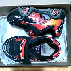 Disney Shoes   Boys Cars Athletic Shoes   Color: Black/Red   Size: 7bb