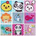 Kits de peinture de diamant 5D pour enfants, perceuse complète, peinture par numéros, Kits pour
