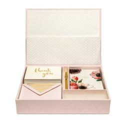 Kate Spade Office | Kate Spade Keepsake Thank You Card Box New | Color: Gold/Pink | Size: Os