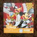 Disney Other | Disney 1,000 Piece Puzzle | Color: black | Size: 1,000 Piece