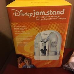Disney Accessories | Disney Jam Stand Speaker System | Color: White | Size: None