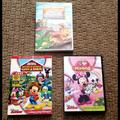 Disney Other | Bundle Lot Of 3 Disney Minnie Mickey Dvd'S | Color: black | Size: Osg
