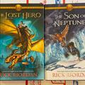 Disney Other | 2 Heroes Of Olympus Books Rick Riordan Lost Hero | Color: black | Size: One Size