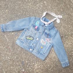 Disney Jackets & Coats   Disney Toy Story Denim Jean Jacket Toddler 2 Nwot   Color: Blue/Pink   Size: 2tg