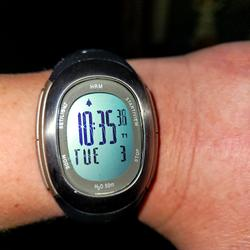 Nike Accessories   Nike Triax Hrm Heart Rate Monitor Watch Runs   Color: Black/Gray   Size: Os