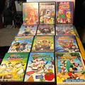 Disney Toys   Childrens Dvd Super Bundle Disney + Dreamworks   Color: Gold/Green   Size: 12 Dvds