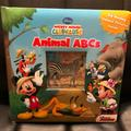Disney Other | Disney Mickey Mouse Clubhouse Animal Abcs Book | Color: Blue/Red | Size: Na