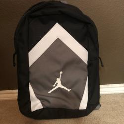 Nike Accessories   Nike Jordan Jumpman Logo 15 Laptop Backpack   Color: Black/Gray   Size: Osb