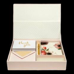Kate Spade Office | Kate Spade Keepsake Thank You Card Box Set | Color: Pink | Size: Os