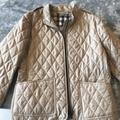 Burberry Jackets & Coats   Burberry Brit Womens Quilted Zipper Jacket   Color: Tan   Size: L