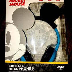 Disney Other | Mickey Mouse Headphones | Color: Blue | Size: Osb