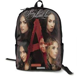 Casual Classic Backpack Pretty Little Liars Shoulder Backpacks Packable Bags Business Backpack Travel Hiking Camping Daypack Backpack for Men/Women