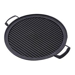 Japanese Style BBQ Grill, Japanese Barbecue Grill Portable Barbecue Stove Japanese Food Charcoal Stove/BBQ Plate Household Barbecue Tools Accessories (Round Grill Pan - S (20.5CM))