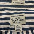 J. Crew Shirts | J Crew Slim Untucked Ls Shirt | Color: Blue/White | Size: Xl