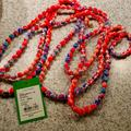Lilly Pulitzer Other   Nwt Lilly Pulitzer Fabric Ball Necklace   Color: black   Size: 57 Inches