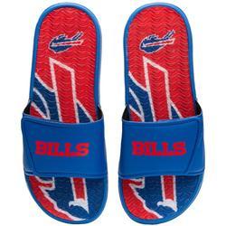Men's FOCO Buffalo Bills Wordmark Gel Slide Sandals