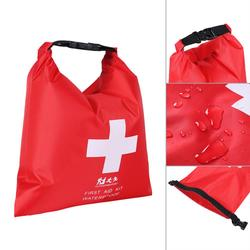Sac de premiers secours étanche, Kit d'urgence pour voyage, Camping, kayak rouge, canoë, Trekking,