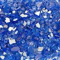 PREP WIPES Blue Fire Glass Media Rock for Fire Pit Fireplace Fire Glass Fire Pit Glass Fire Glass for Propane fire Pit Firepit Glass Rock Fire Pit Glass Rocks Glass fire Pit Rocks
