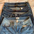 Levi's Jeans | Levis 518 524 Mudd Four Pair Jeans Size 9 | Color: Blue | Size: 9j