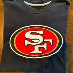 Nike Shirts   Mens San Francisco 49ers T-Shirt   Color: Black   Size: M
