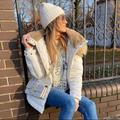 Zara Jackets & Coats | Nwt Zara Water Repellent Puffer Jacket | Color: White | Size: Xs