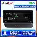 NaviFly – lecteur dvd de voiture pour Audi Q5 8R 128-2009, avec android 10.0 1920X720, écran