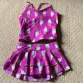 Disney Swim | Girls Two Piece Swimsuit | Color: Cream | Size: See Description