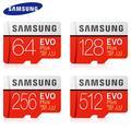 SAMSUNG – carte micro SD EVO + PLUS, 32 go/64 go/100% go/128 go, classe 10, SDXC/SDHC, 4K/U3, 256