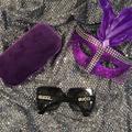 Gucci Accessories | Gucci Women'S 54mm Designer Sunglasses | Color: Black/Silver | Size: 54mm