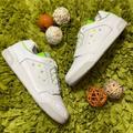 Adidas Shoes   Adidas White Green Slamcourt Original Sneakers   Color: Green/White   Size: 10