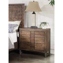 Loon Peak® Andria Nightstand In Reclaimed Oak 21293 (Only Nightstand), Size 27.1654 H x 29.9213 W x 20.0787 D in | Wayfair