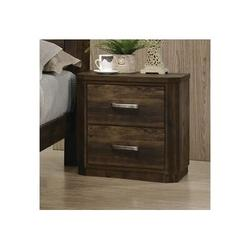 Millwood Pines Elettra Nightstand, Rustic Walnut 24853 (Only Nightstand) in Brown, Size 27.9528 H x 27.1654 W x 18.8976 D in   Wayfair