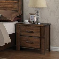Loon Peak® Merrilee Nightstand In Oak 21683 (Only Nightstand), Size 27.9528 H x 29.1339 W x 18.1102 D in | Wayfair 768719F16F16492792A1F131B3FB2B4E
