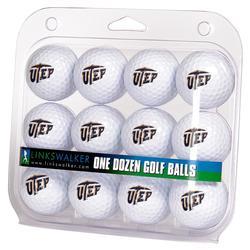 UTEP Miners 12-Pack Golf Ball Set