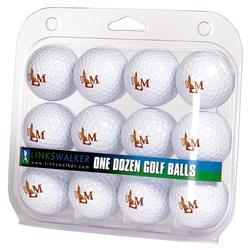 ULM Warhawks 12-Pack Golf Ball Set