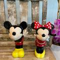 Disney Kitchen | Mickey & Minnie Salt And Pepper Shakers | Color: Black/Red | Size: Os