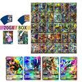 Sent At Random 20PCS/Pack Pokemon Cards VMAX GX EX MEGA Booster Box English Trading Game Card Kids Collection Toys