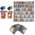 Sent At Random 20PCS/Pack Pokemon Cards GX EX MEGA VMAX Booster Box English Trading Game Card Kids Collection Toys