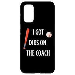 Galaxy S20 I Got Dibs On The Coach Phone Case - Funny Baseball Gift Case