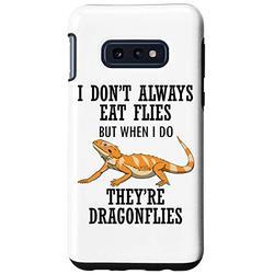 Galaxy S10e Bearded Dragon Eat Dragon Flies Reptile Lizard Case